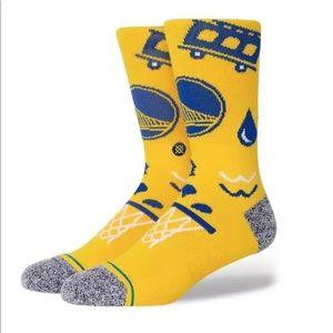Stance Golden State Warriors Socks - NWT